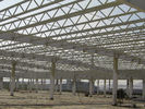 High Strength Pipe Truss And H Section Beams Structural Steel Industrial Workshop