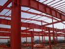 China Structural Steel Buildings With Corrugated Steel Sheet Panel Closure factory