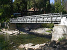 Portable Bailey Bridge Heavy Load Capacity , Strong Structure Rigidity