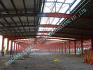 China A36 Pre Engineered Industrial Steel Buildings Welded H Shape For Fabric Mills factory