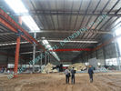 China 60 X 102 Light Weight Industrial Steel Buildings ASTM Standards 75MM Sandwich Panels factory
