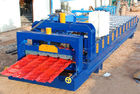 China Steel Roof Glazed Tile Roofing Sheet Forming Machine With 18 Forming Stations factory