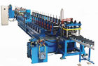 China 16 Main Rollers Cold Rolling Machine For Steel / Metal CZ Purlins factory