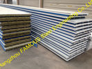 China Construction PU Insulated Sandwich Panels Polyurethane Foam Steel factory