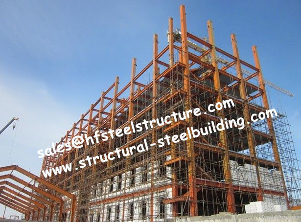 Steel Structure Building Hotel Project Pre Fabricated