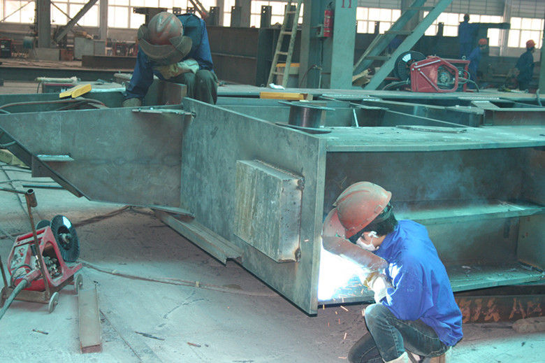 Structural Steel Buildings Frames Fabricated By Cutting