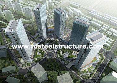 OEM Prefabricated Welding,Braking, Rolling And Painting Metal Commercial Steel Buildings