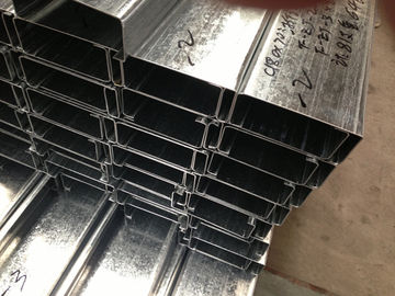 Q235 Q345 Galvanized C and Z Steel Purlins With 275g/m2 Zinc Coating Thickness