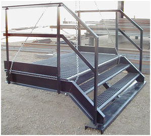 Q235 / Q345 Structural Steel Fabricators Hot-dipped Galvanized Surface