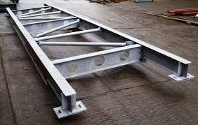 Q235 Galvanized Structural Steel Fabricators Exquisite Welding Process