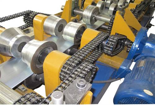 Coil Process Cold Roll Forming Machine C Z For Galvanized Steel