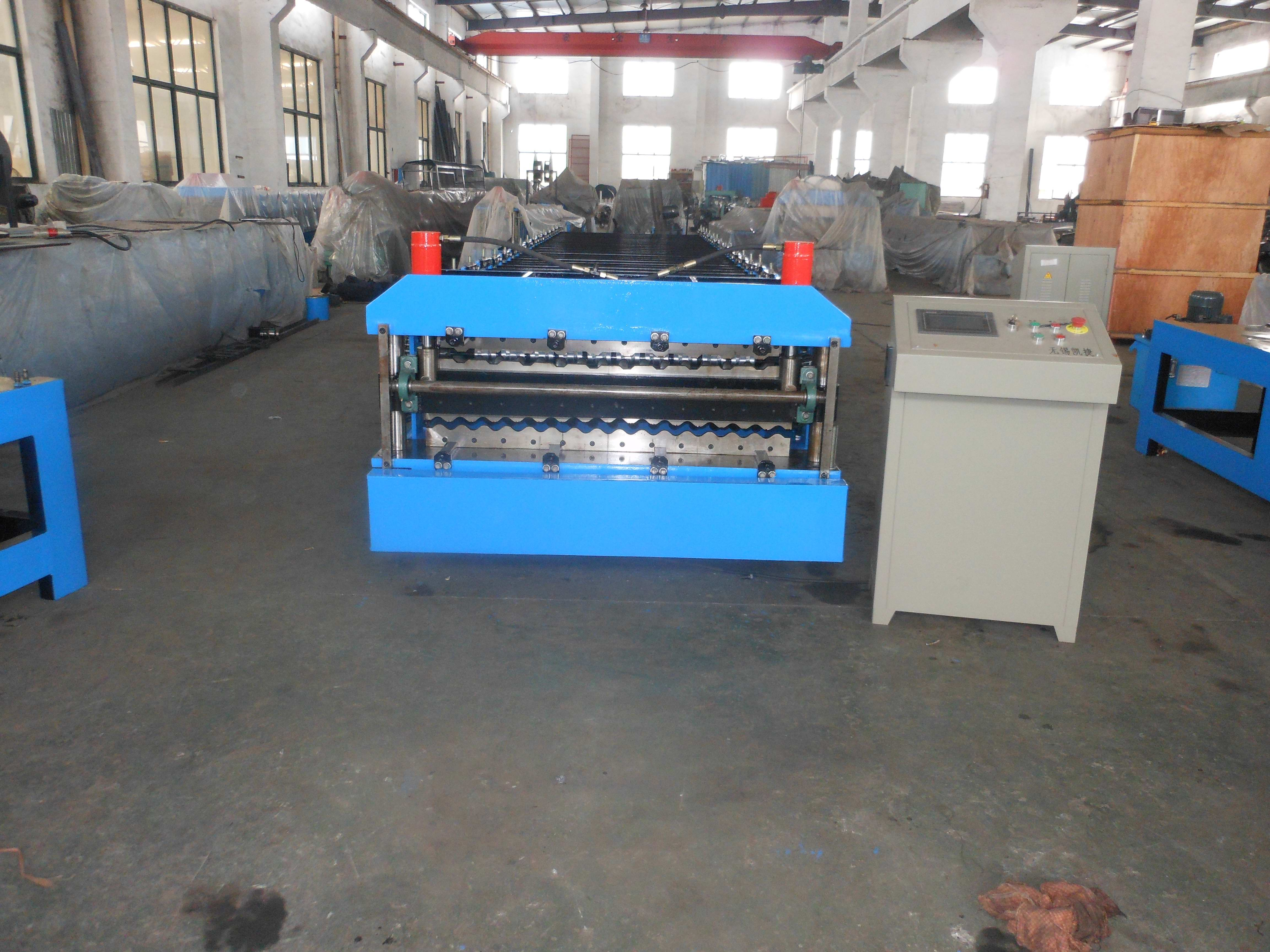 Corrugated Roll Forming Machine By Chain / Gear