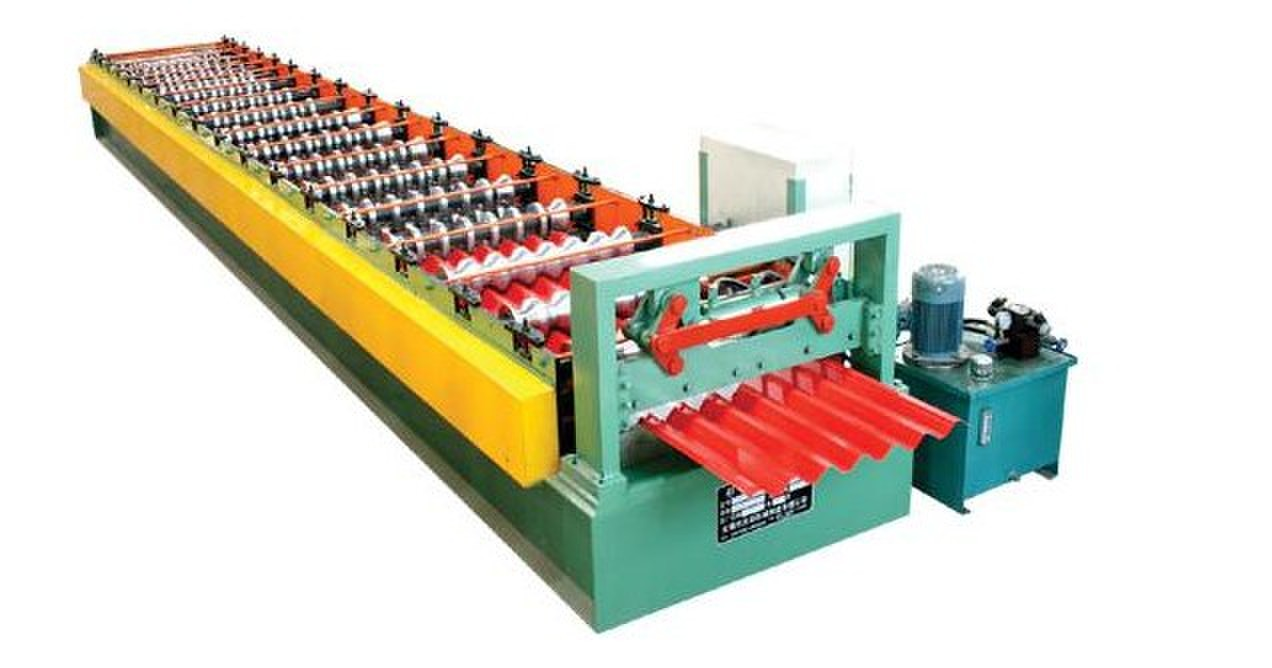 Wall Cladding Corrugated Roll Forming Machine customized With Hydraulic