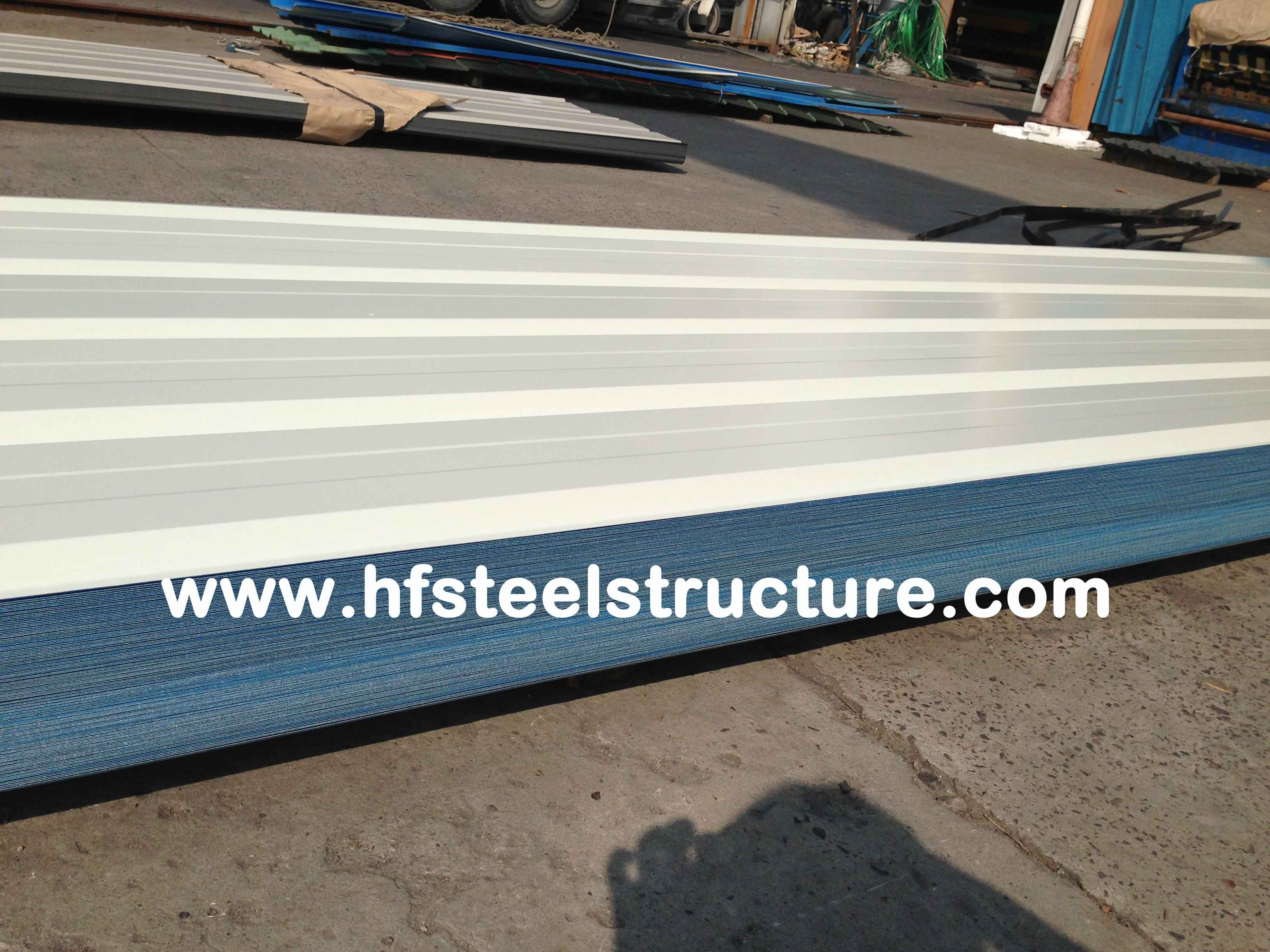 High Strength Steel Plate Metal Roofing Sheets With 40 - 275G / M2 Zinc Coating