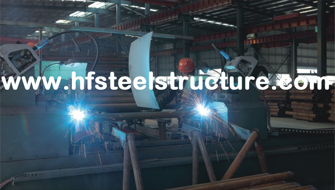 Innovative Half Suspended Structural Steel Fabrications Workshop Under Arc-shaped Roof Plate