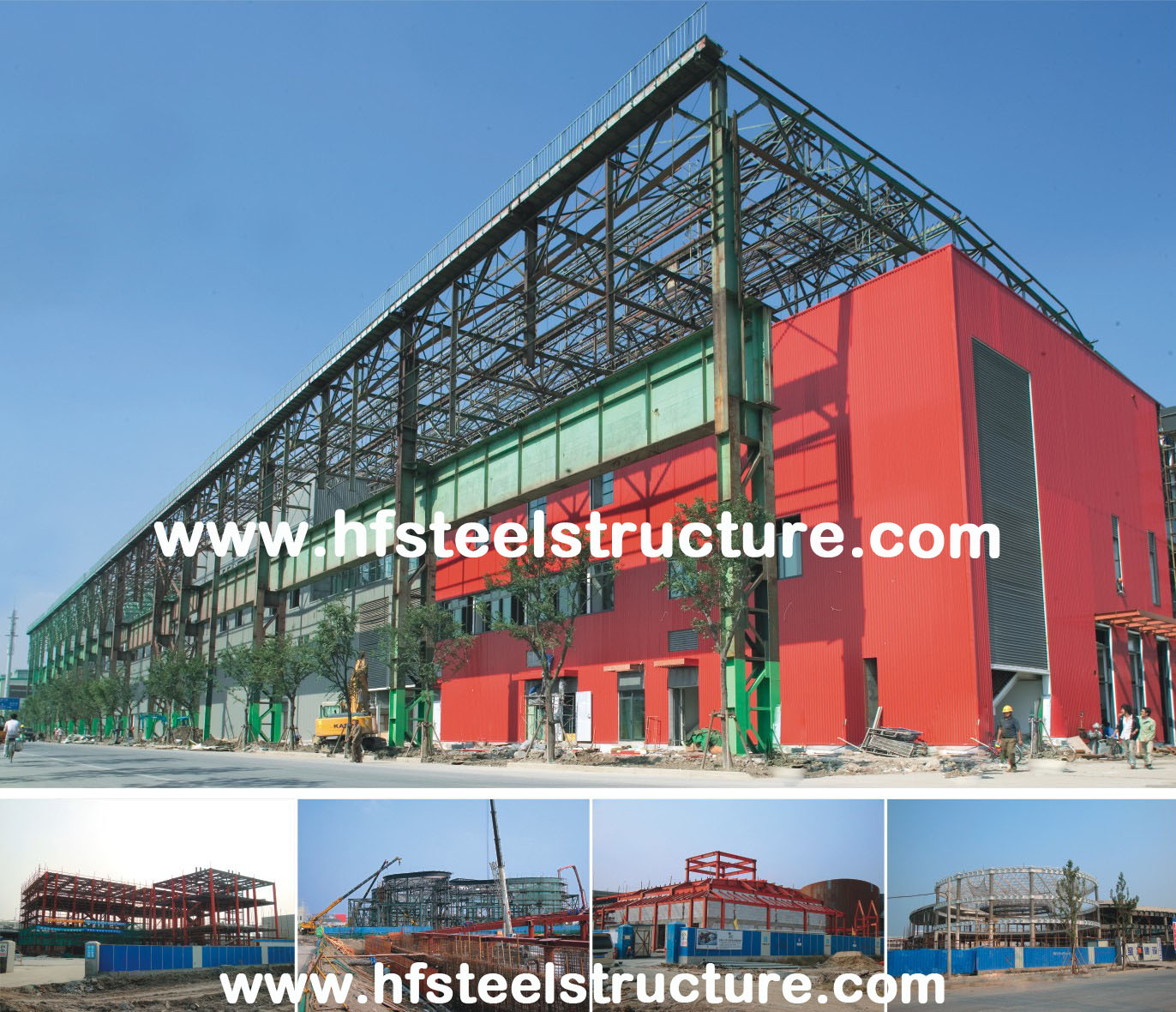 Prefabricated Modular Designe Galvanized Commercial Steel Buildings With Cold Rolled Steel