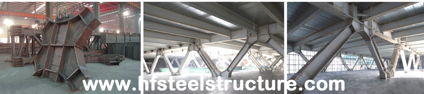 Prefabricated Shearing, Sawing, Grinding, Punching, Metal Commercial Steel Buildings