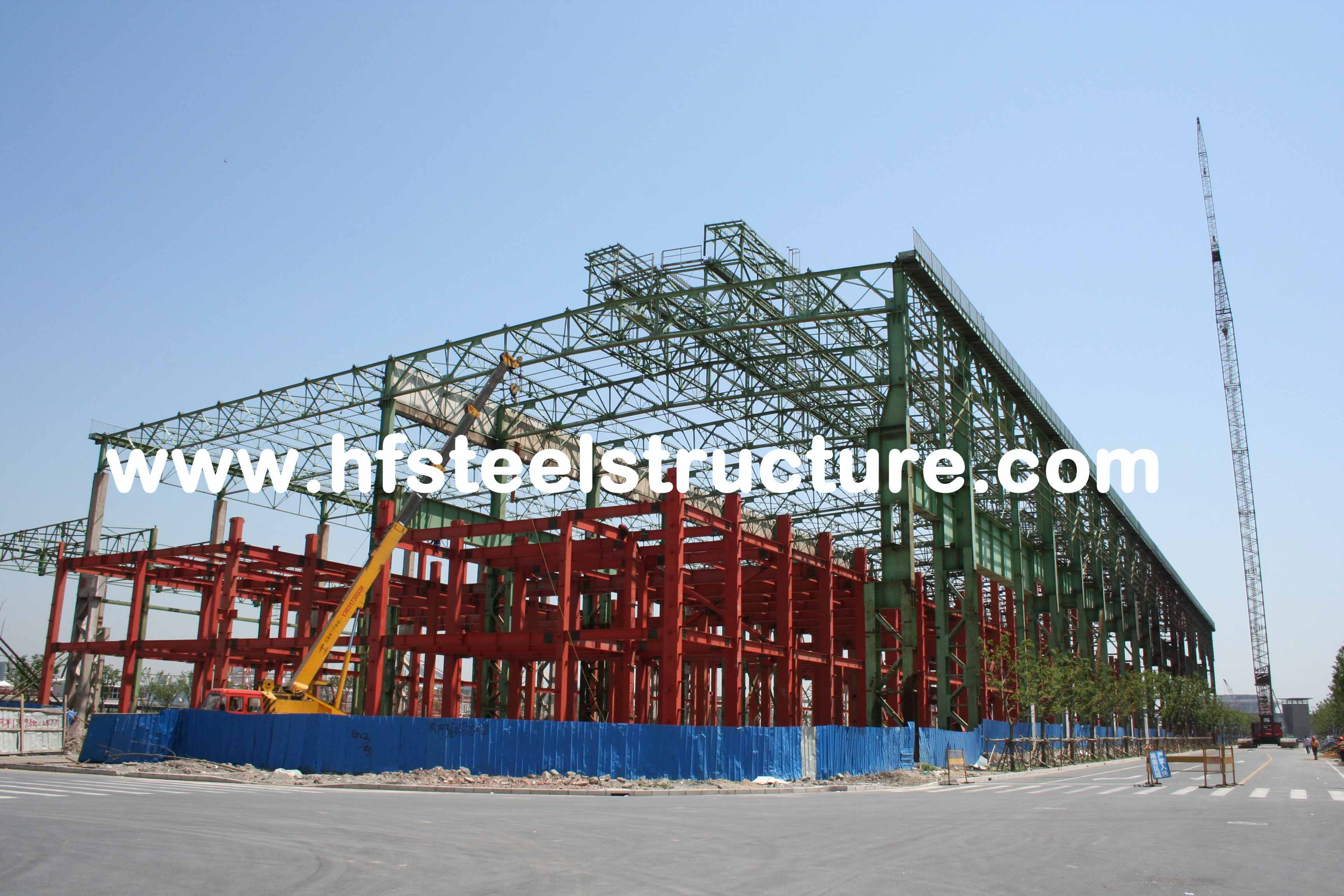 Arch Style Commercial Steel Buildings,Cold Rolled Steel Lightweight Portal Frame Buildings