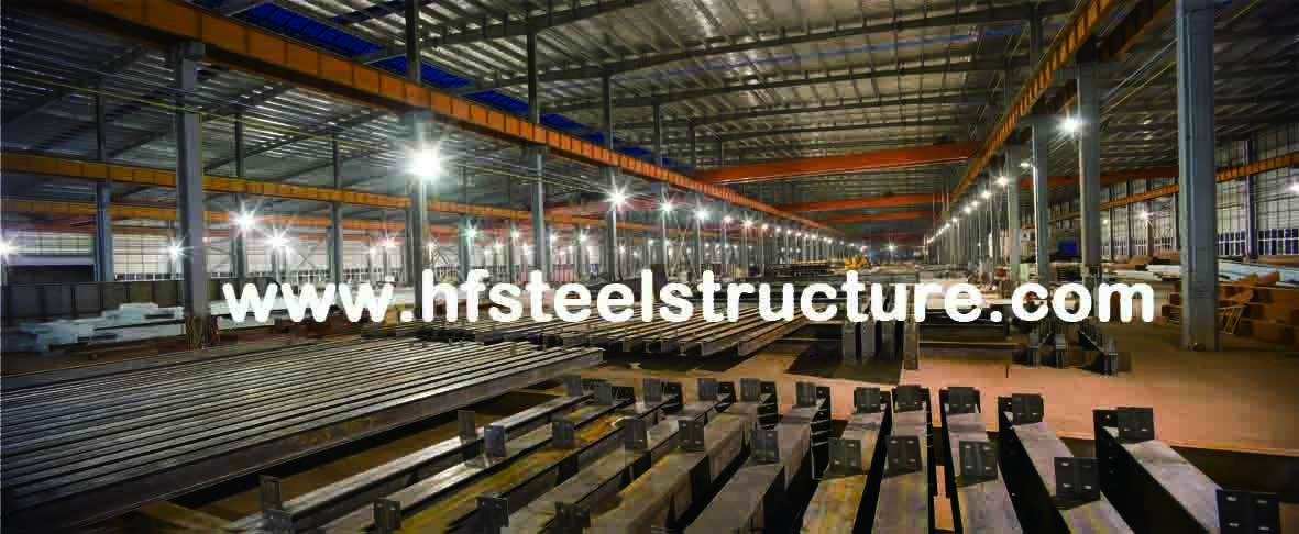 Hard And Durable, Hot Dip Galvanized, Industrial Waterproof Multi-Storey Steel Building