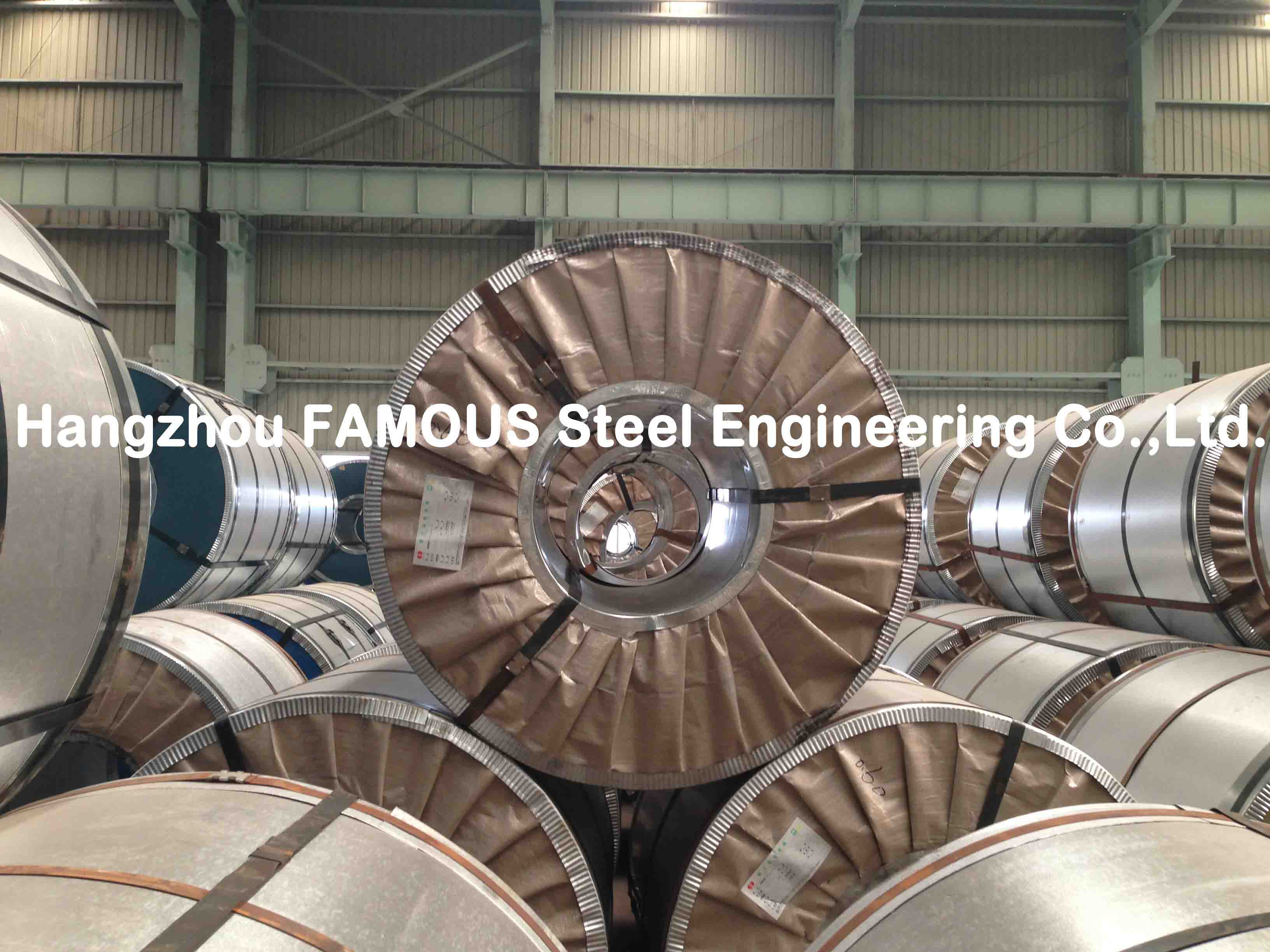 AZ Primer Construction Metal Galvalume Steel Coil With Hot Dip Galvanized