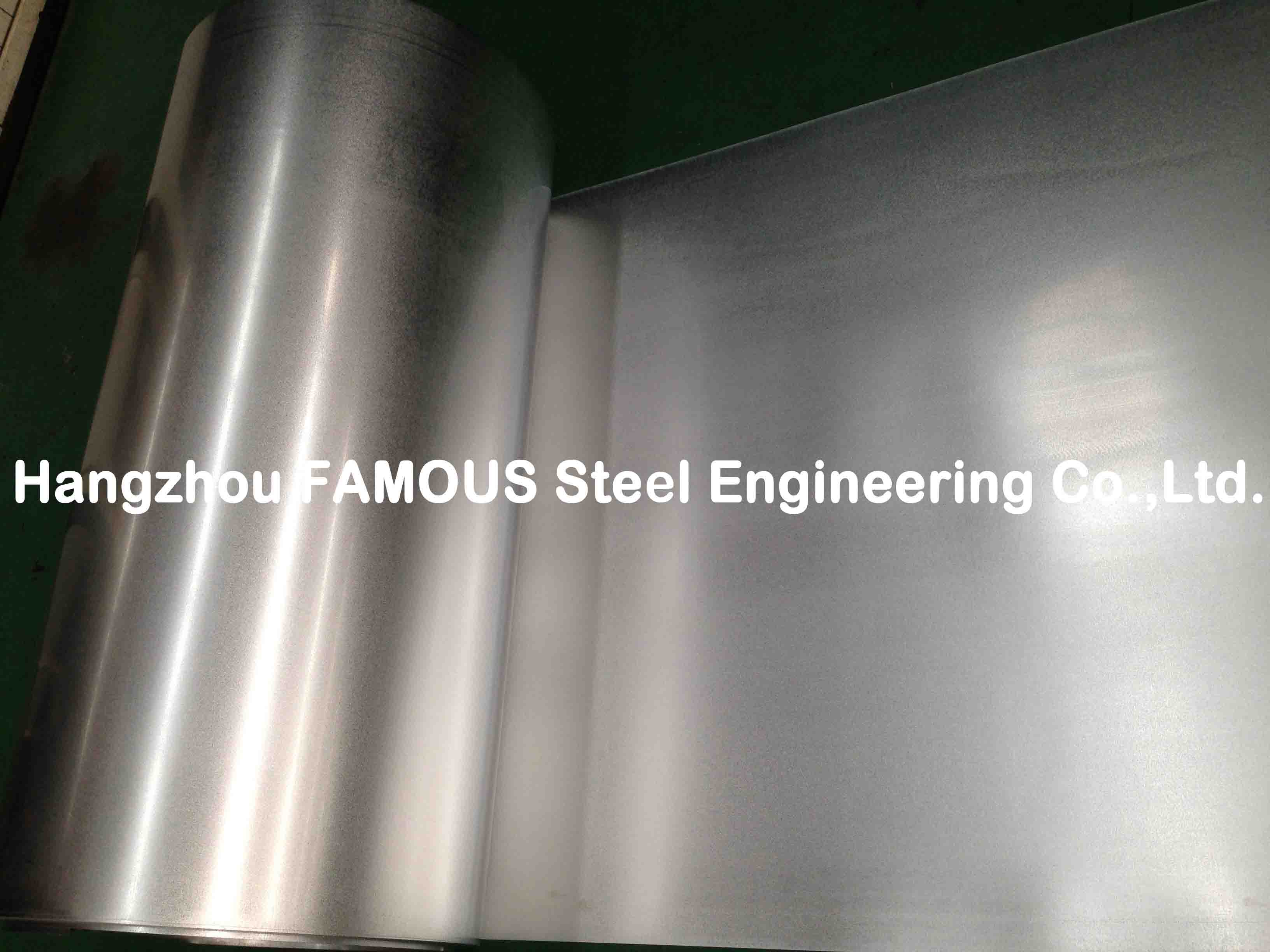 Bright Surface Galvanized Steel Coil Corrosion Resistance With Z60 - Z180
