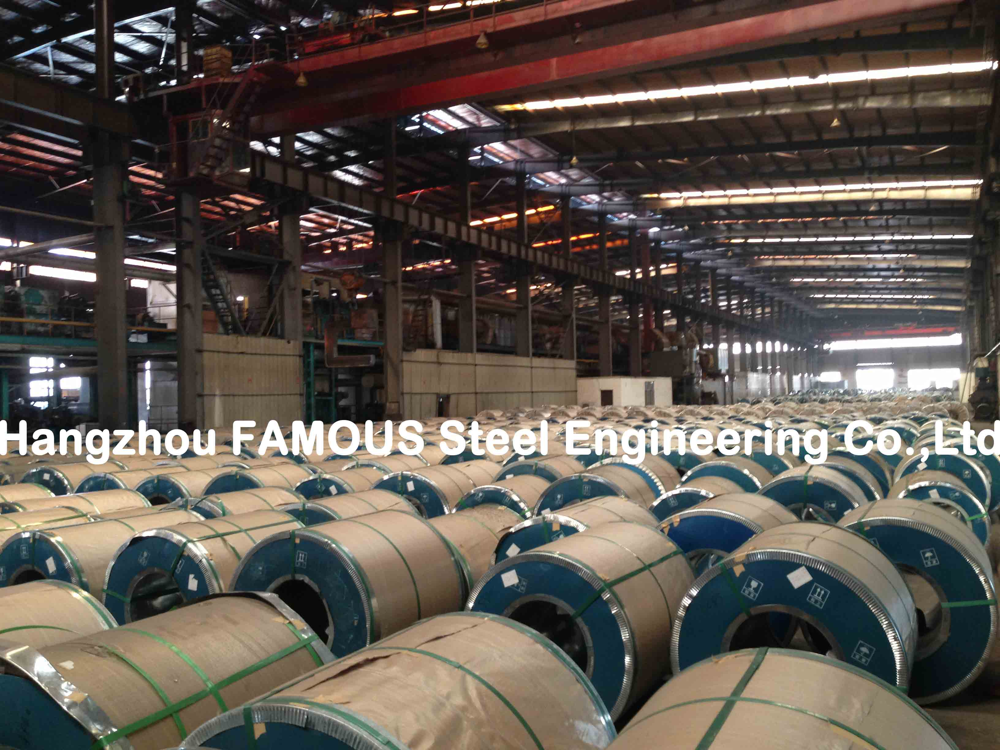 Hot Dipped Chromated / Oiled / Galvanized Steel Coil Zinc , ASTM Steel Sheet