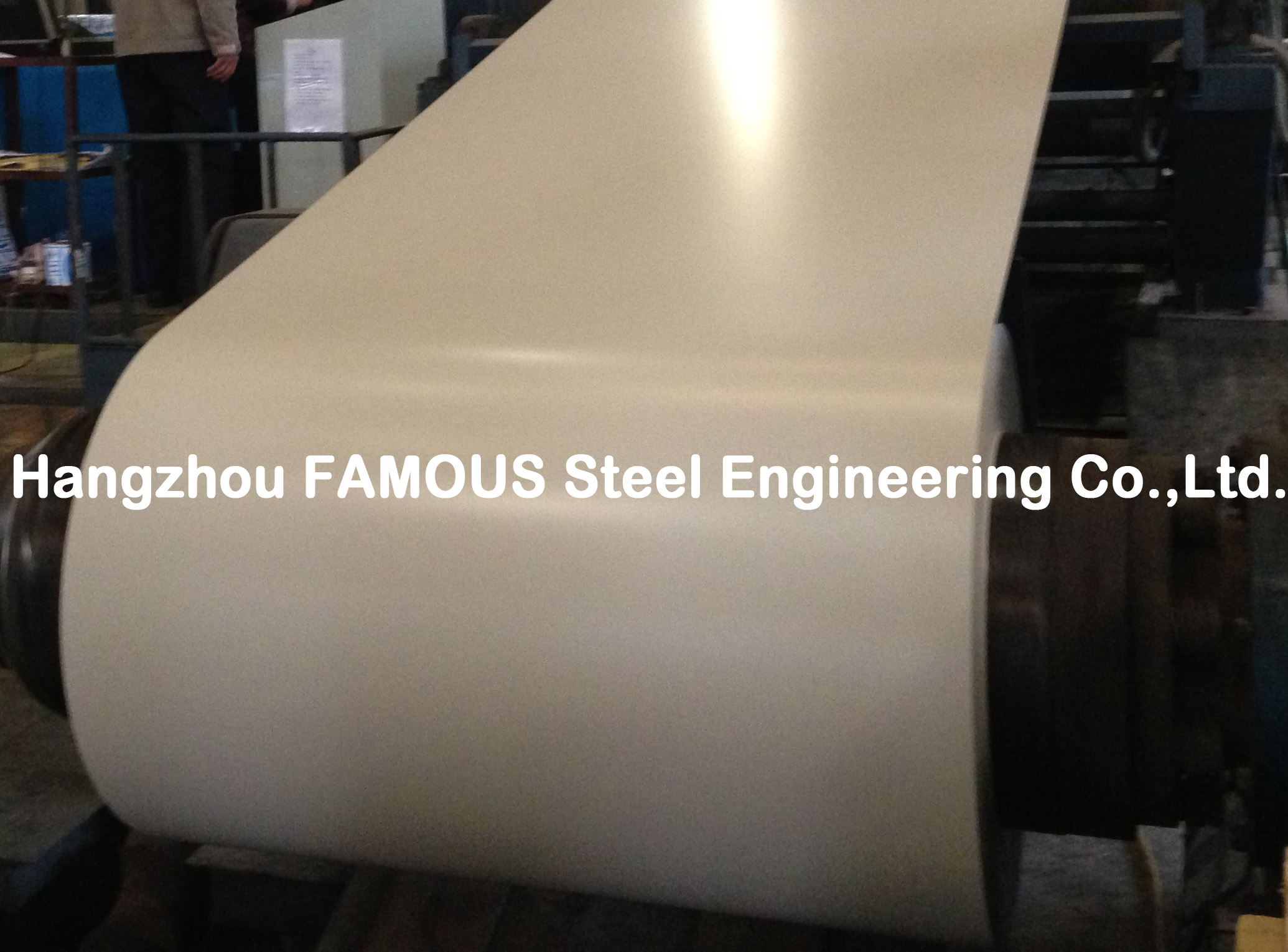 PPGI PPGL High Performance Prepainted Steel Coil Zinc AZ Metal Laminate For Roof and Wall