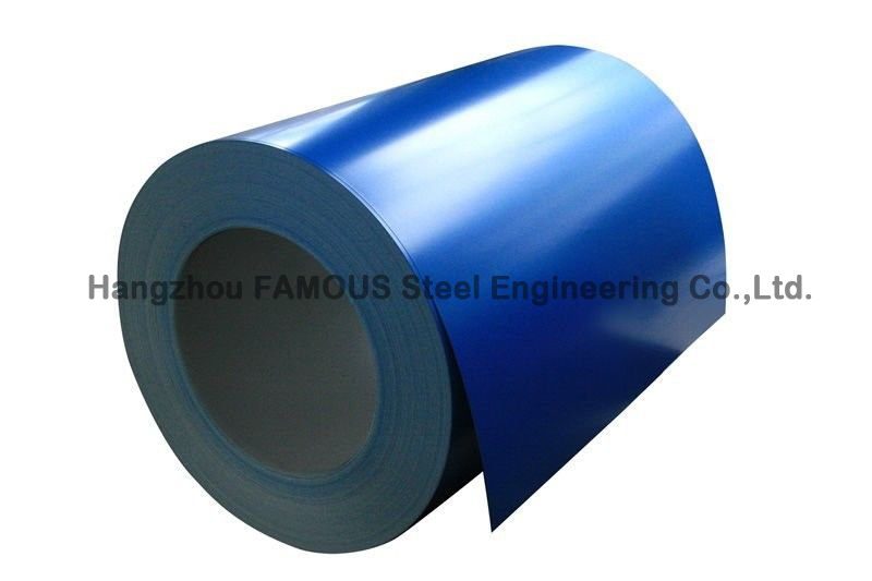 Al-Zn Coated Prepainted Steel Coil Color Strip Galvanized / Galvalume