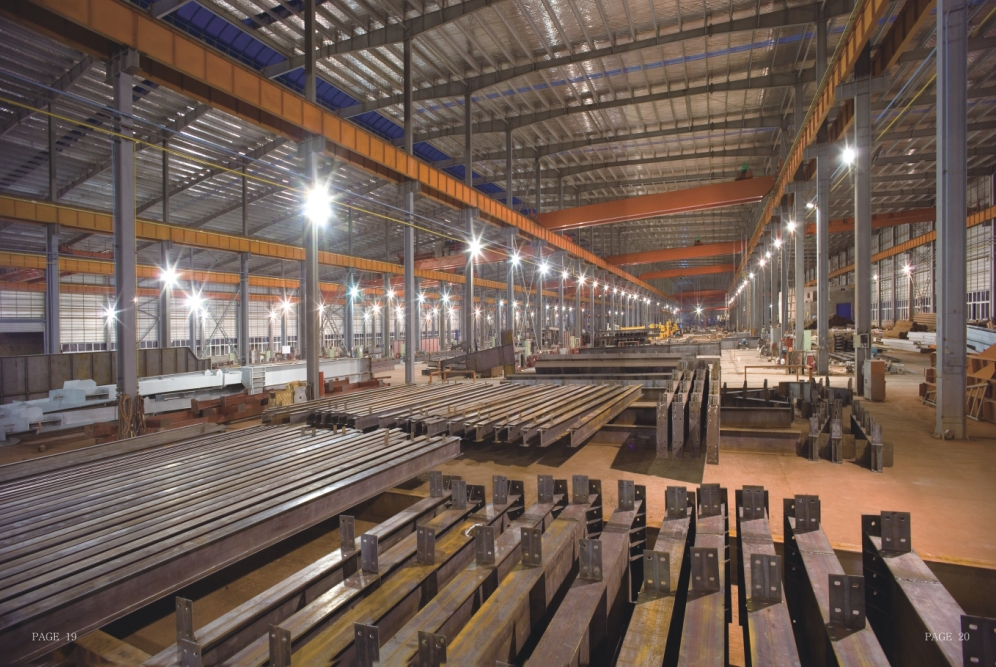 Structural Steel Building Kits Galvanised Steel Purlins For All Sizes