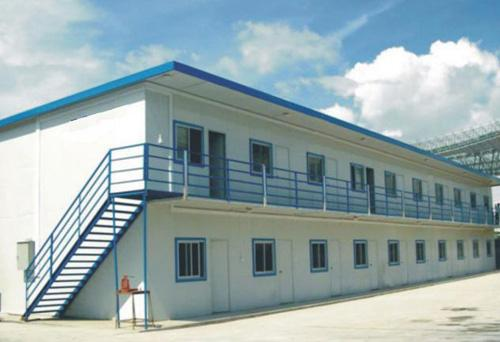 Easy Construction Sandwich Panel Steel Portable House For Worker Residing