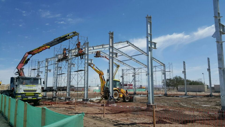 Industrial Steel Buildings for Engineering Fabrication Construction Installation Turnkey Contractor