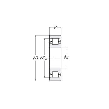 MRJ3 RHP Cylindrical Roller Bearings