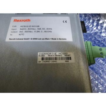 Bosch FalklandIslands Rexroth Indramat HCS021E-W0028 mit Speicherkarte