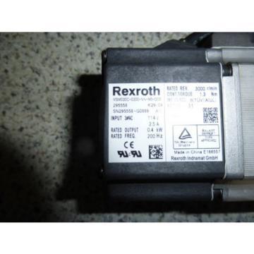 Rexroth Heard Bosch MSM030C-0300-NN-M0-CG0 Servo motor