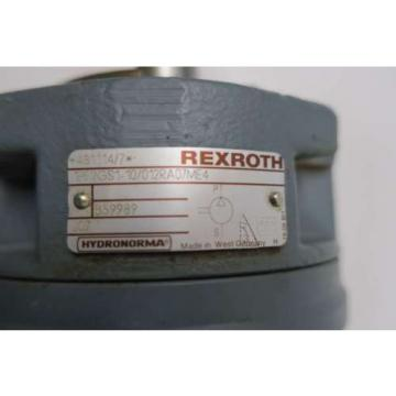 REXROTH St. Kitts  1PF2GS1-10/012RA07ME4 HYDRAULIC GEAR pumps D539251