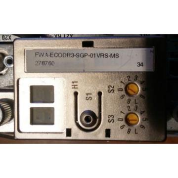 USED St.Kitts REXROTH INDRAMAT DKC023-040-7-FW SERVO DRIVE W/FWA-ECODR3-SGP-01VRS-MS