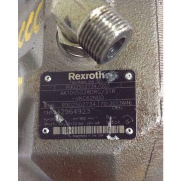 REXROTH Guadeloupe HYDRAULIC MOTOR R902502734/000 / AA10VS028DRG/31R-VKC62N00 99041