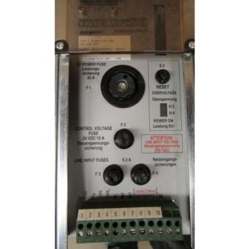 INDRAMAT Faroe Islands  REXROTH TVM 12-050-220/300-W0/220/380 AC SERVO POWER SUPPLY DRIVE