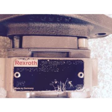 Rexroth Chile PGF1-21/17RE01VU2 Hydraulikpumpse Hydraulikmotor MNR R90086159