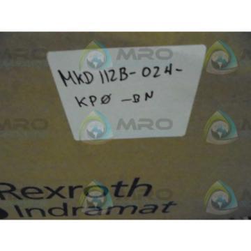 REXROTH GreatBritain(UK) INDRAMAT MKD112B-024-KPO-BN MAGNET MOTOR Origin IN BOX