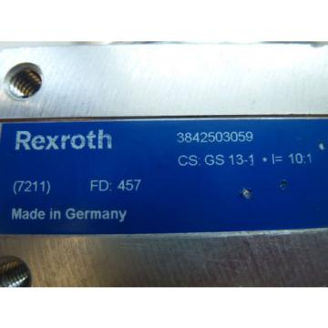 REXROTH Lebanon  3842503059 ANGLE GEAR CS: GS 13-1  I=10:1 Ø 9mm or 6kant 17mm