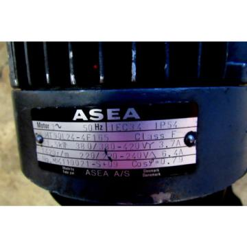 REXROTH Western Sahara  HYDRAULIC POWER UNIT W/ASEA #MT90L24-4F165, 15KW, 1420 R/M MOTOR