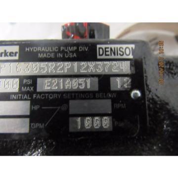 PARKER Guyana / DENISON HYDRAULIC PUMP PVP16305R2P12X3724 Origin