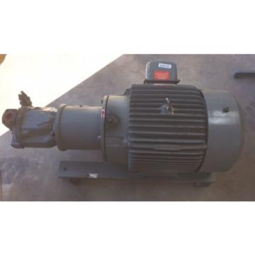 Rexroth Kazakhstan  Hydraulic pumps MDL AA10VS071 w Reliance 40 HP Motor DUTY MASTER 3 PH