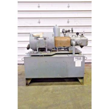 RX-3094, DENISON HYDROILICS 100HP POWER UNIT / PACK 5000 MAX PSI 1200 MAX RPM