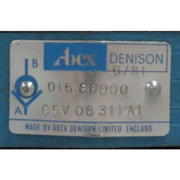 ABEX Finland DENISON Check Valve M/N: C5V 06 311 A1