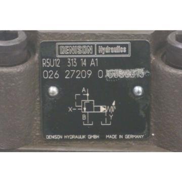 Origin CostaRica DENISON R5U12-313-14-A1 HYDRAULIC FLOW CONTROL VALVE 026-27209-0