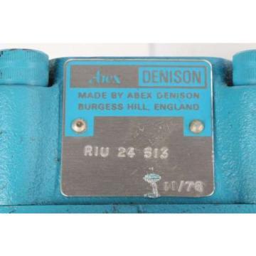origin Kazakhstan R1U24513 Abex Denison Unloading Valve