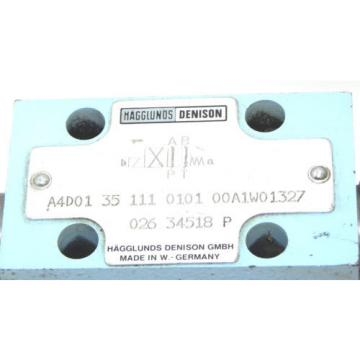 MAGGLUNDS SriLanka DENISON A4D01 35 111 0101 00A1W01327 CHECK VALVE Q26 34518 P