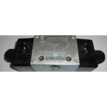 Hagglunds Guam Denison A3D02 34 751 0902 00B5 01351 Valve w/ Dual Solenoids, Used
